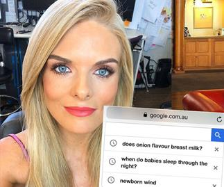 Erin Molan's Google search history will strike a serious chord with every new mum