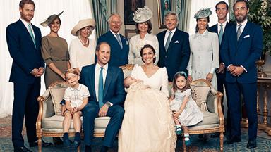 Prince Louis' christening portraits: See the full, adorable album