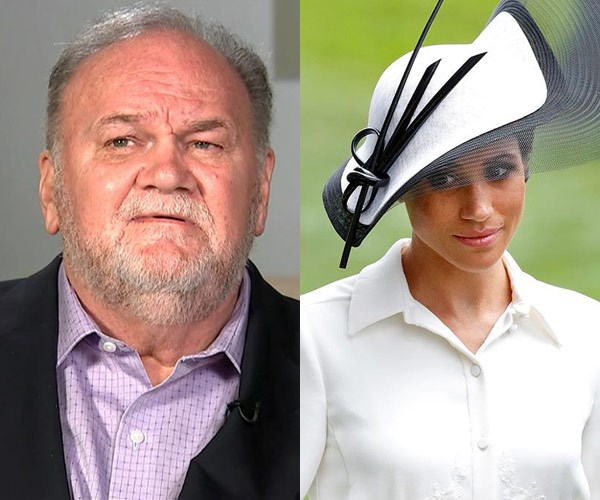"Thomas Markle says Meghan Markle is ""terrified"" by royal life"