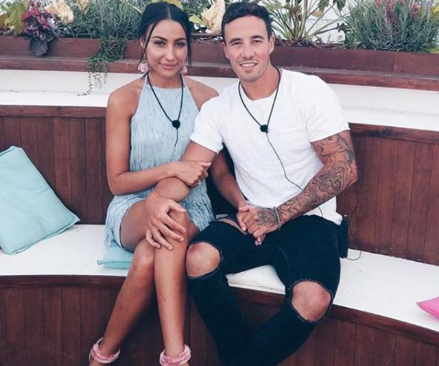 Tayla Damir and Grant Crapp