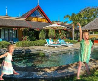 """Grant Denyer and his """"gorgeous island girls"""" are home after a fantasy post-Logies escape"""