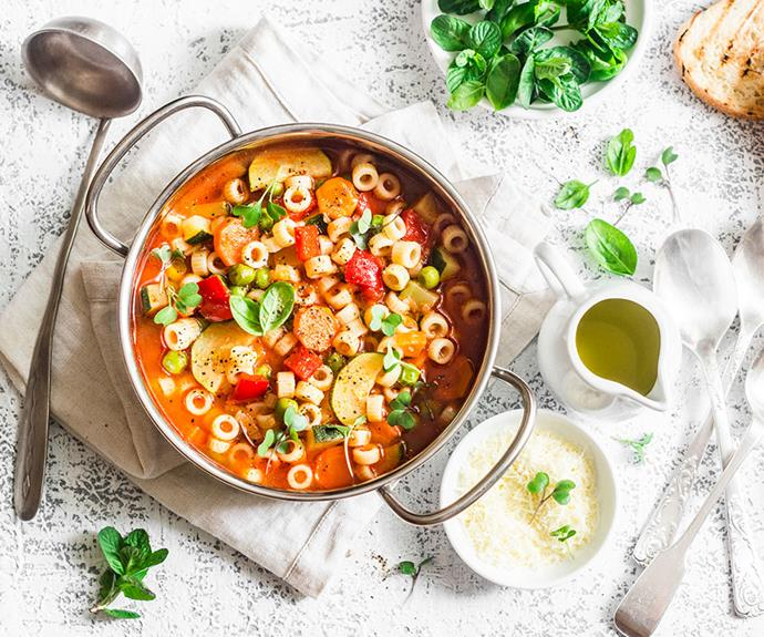 Winter recipes: hearty minestrone soup