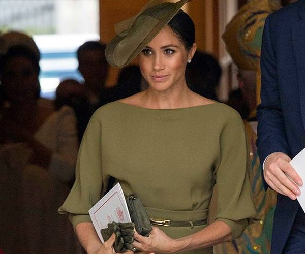 This is why Meghan Markle wore green to Prince Louis' christening