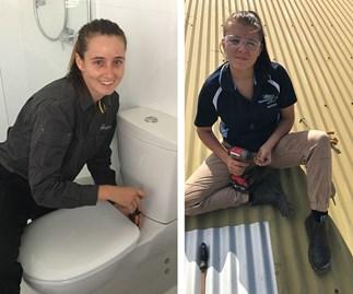 Meet the ladies making waves in the plumbing industry