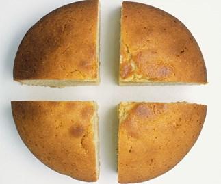 How to make a microwave sponge cake