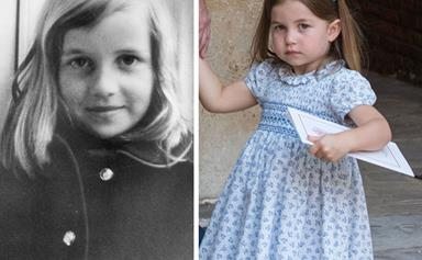 How Princess Charlotte is reminding the world of Princess Diana