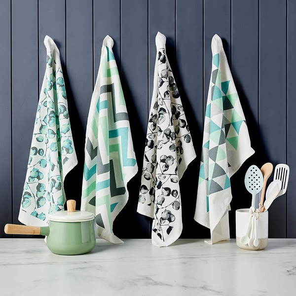 Pick up a designer tea towel for just $2 at Woolworths*