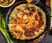 Spring onion pancakes and savoury crepes recipes that will leave you drooling