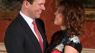 Fairytale love! Princess Eugenie and Jack Brooksbank share unseen romantic photos