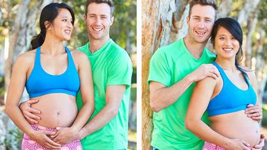 EXCLUSIVE: We're having a Ninja Warrior baby!