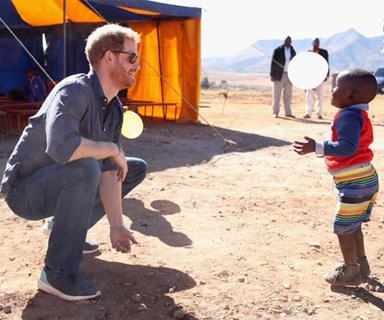 Brand new unseen photos of Prince Harry during his trip to Africa