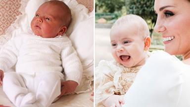 Prince Louis is officially three months old! Look at his cutest baby photos