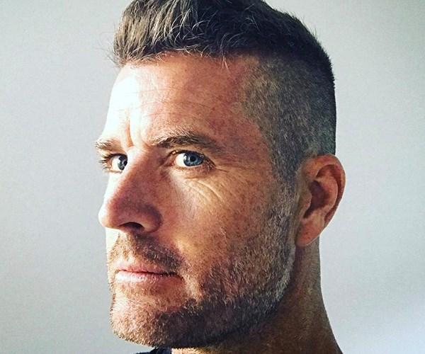 Pete Evan's new haircut