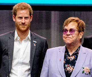 Prince Harry and Elton John unite in their fight against AIDS