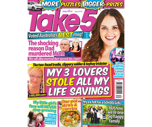 Take 5 Issue 31 Coupon - on sale now!