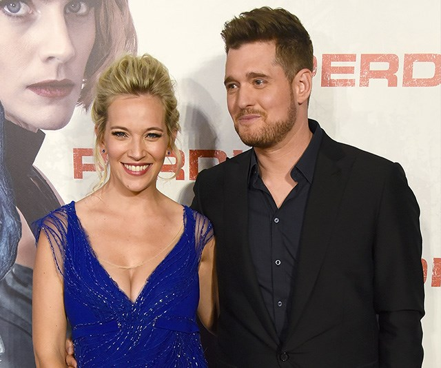 Michael Buble and Luisana Lopilato welcome baby number three