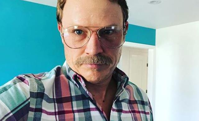 Home and Away's Chris Egan is unrecognisable with his new moustache