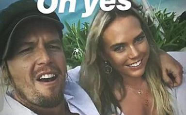 BIP's Sam Cochrane parties with Bachelor's Cass Wood