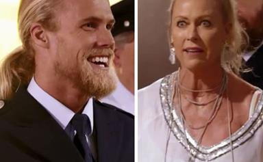 The awkward moment Lisa Curry sees her son Jett Kenny NAKED on The Real Full Monty