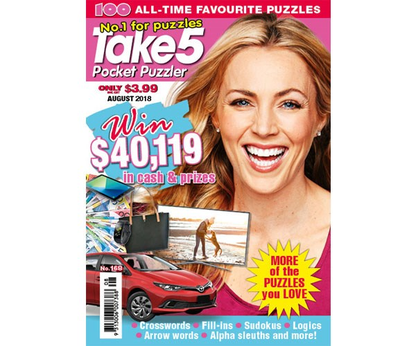 Pocket Puzzler Issue 168 Coupon