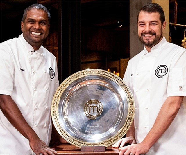 Masterchef finalists Sashi and Ben