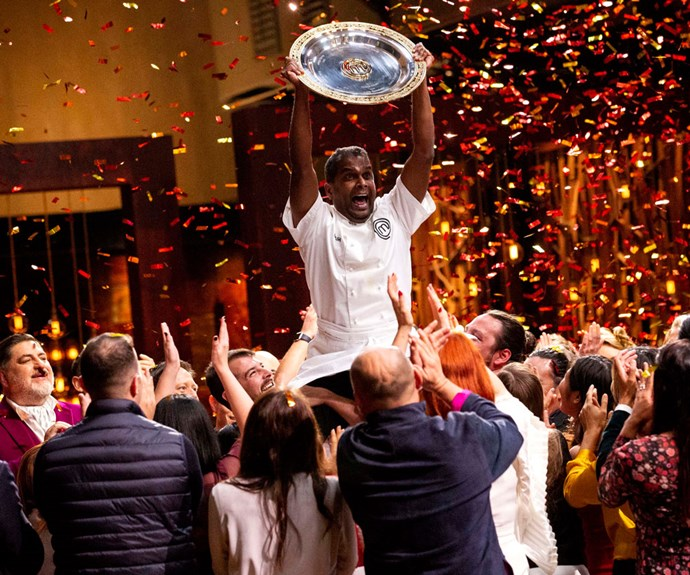 Sashi Cheliah crowned winner of MasterChef Australia 2018