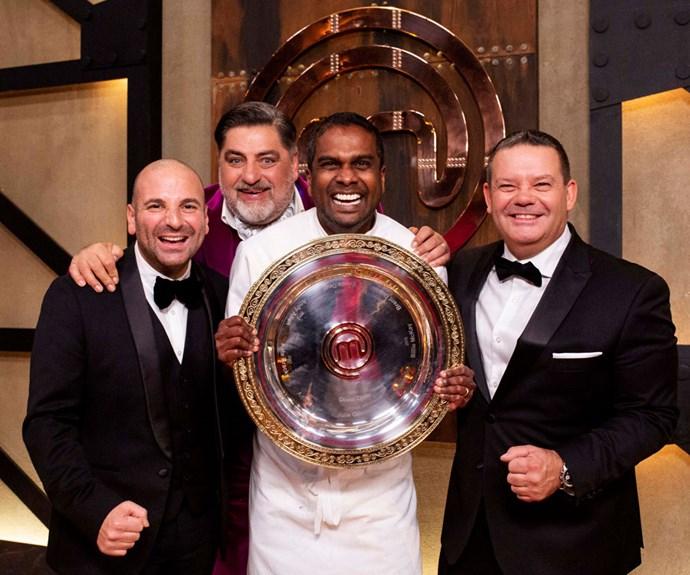 Sashi Cheliah wins MasterChef Australia
