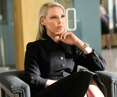 Katherine Heigl reveals the 'fit of courage' that landed her a role in hit drama Suits
