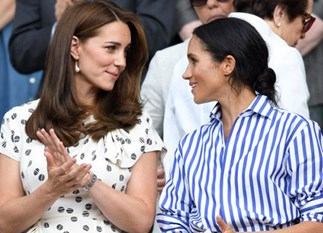 Meghan Markle's leaning on Duchess Kate following all the Thomas Markle drama