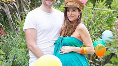 Home and Away star Esther Anderson gives birth to a baby boy
