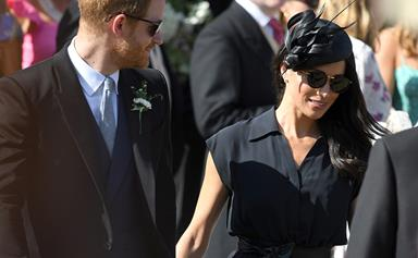 Prince Harry suffered a major fashion malfunction at the Van Straubenzee wedding