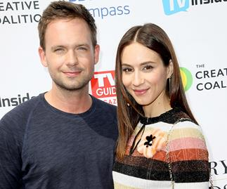 Suits star Patrick J. Adams and actress Troian Bellisario are expecting their first child