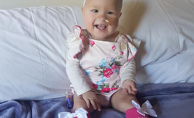 Real life: How baby Kalani fought brain cancer at six months old