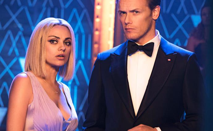 Mila Kunis and Sam Heughan on their killer secret-agent spoof The Spy Who Dumped Me