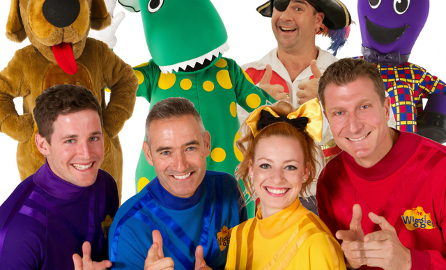 The Wiggles Band Photo