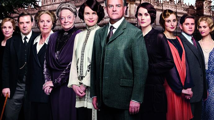 The cast of Downton Abbey just reunited and the photos will make your day