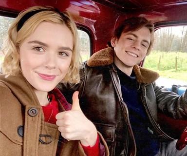 Netflix reboot shares first look at Kiernan Shipka as Sabrina