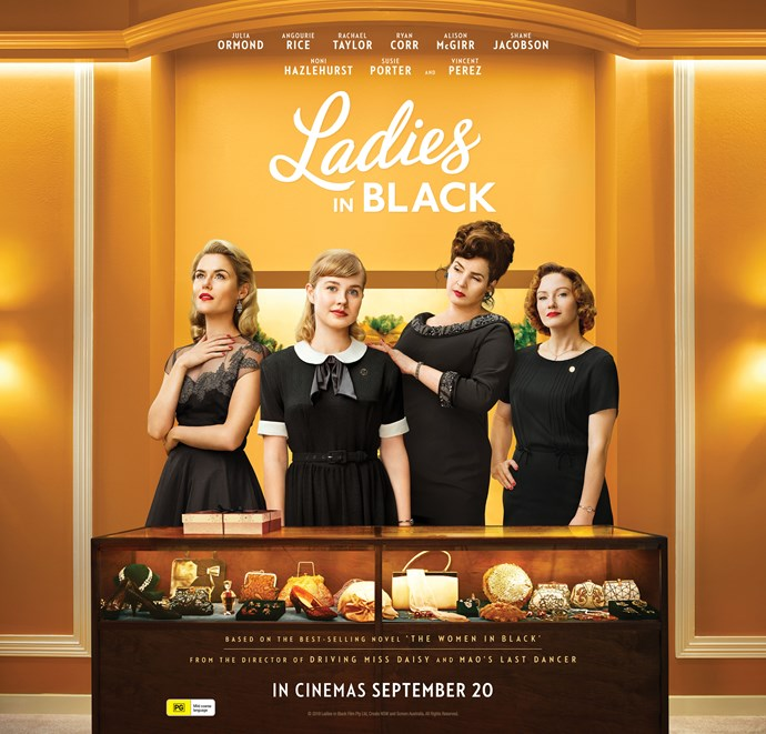 Win 1 of 20 Ladies in Black Double Movie Passes