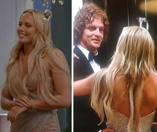 The Bachelor Cassandra Wood's hair extensions