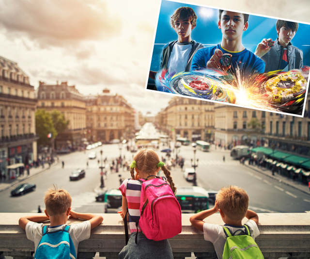 The Australian Beyblades Championship is coming and the winner gets to go to Paris!