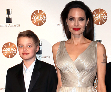 Shiloh Jolie-Pitt warns parents Angelina Jolie and Brad Pitt