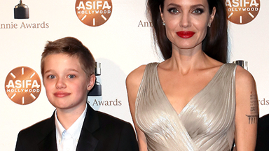 Shiloh Jolie-Pitt warns parents Angelina Jolie and Brad Pitt