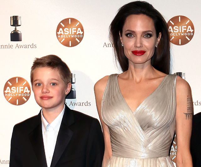 Angelina Jolie and Shiloh Jolie-Pitt