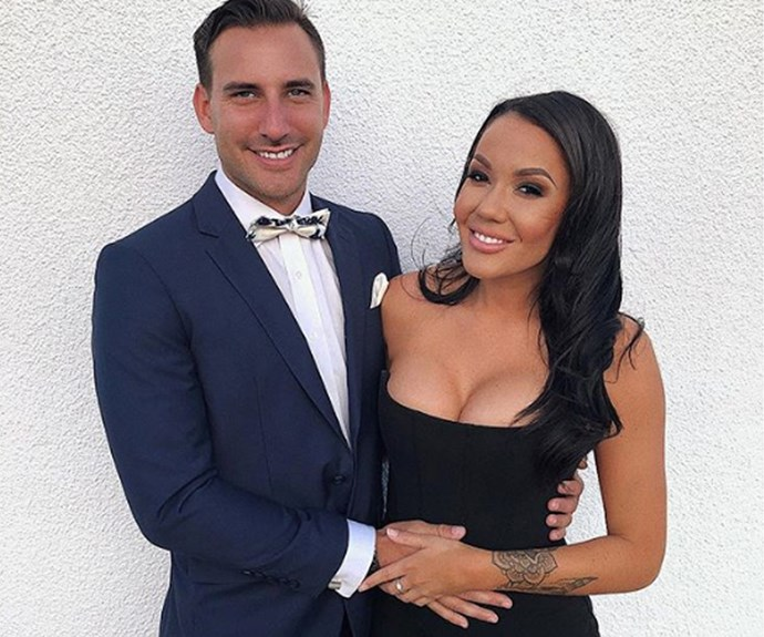 MAFS Davina's bump reveal! Is the reality star hinting at something?
