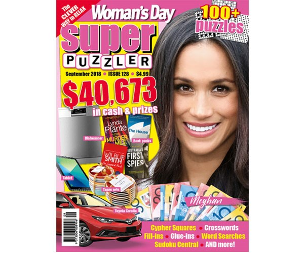 Woman's Day Superpuzzler Issue 128
