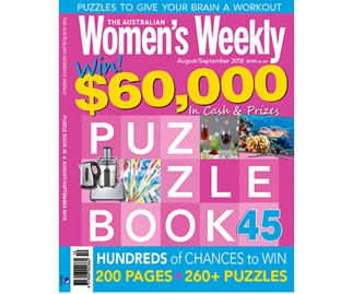 The Australian Women's Weekly Puzzle Book Issue 45
