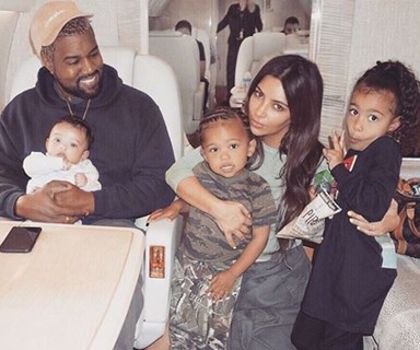 Kim Kardashian and Kanye West's baby boy joy