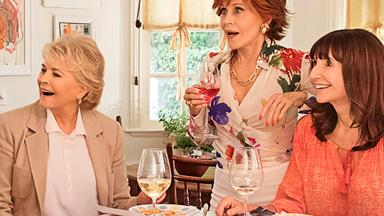 Pals Jane Fonda and Candice Bergen dish on their new film Book Club