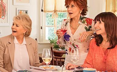 Pals Jane Fonda and Candice Bergen dish on their new film Book Club