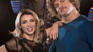 Dannii Minogue and Nick Cummins' team up as new hosts on Ultimate Beastmaster